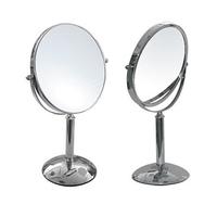 Зеркало настольное  двустороннее Высота: 345 мм Диаметр: 190 мм