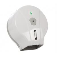 Диспенсер для туалетной бумаги бело-серый