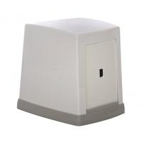 Диспенсер для салфеток 135x135x105 мм, белый